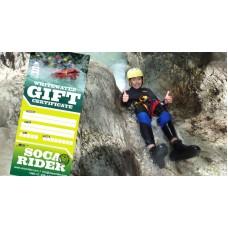 Rafting, kanyoning ajándék utalvány