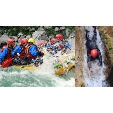 2x rafting, canyoning