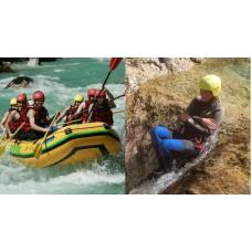Rafting, kanyoning